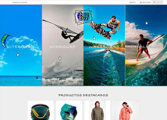 Diseño y desarrollo tienda web